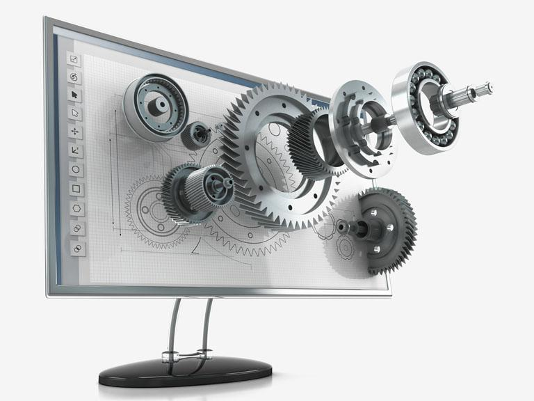 obrazek zmonitorem komputerowym